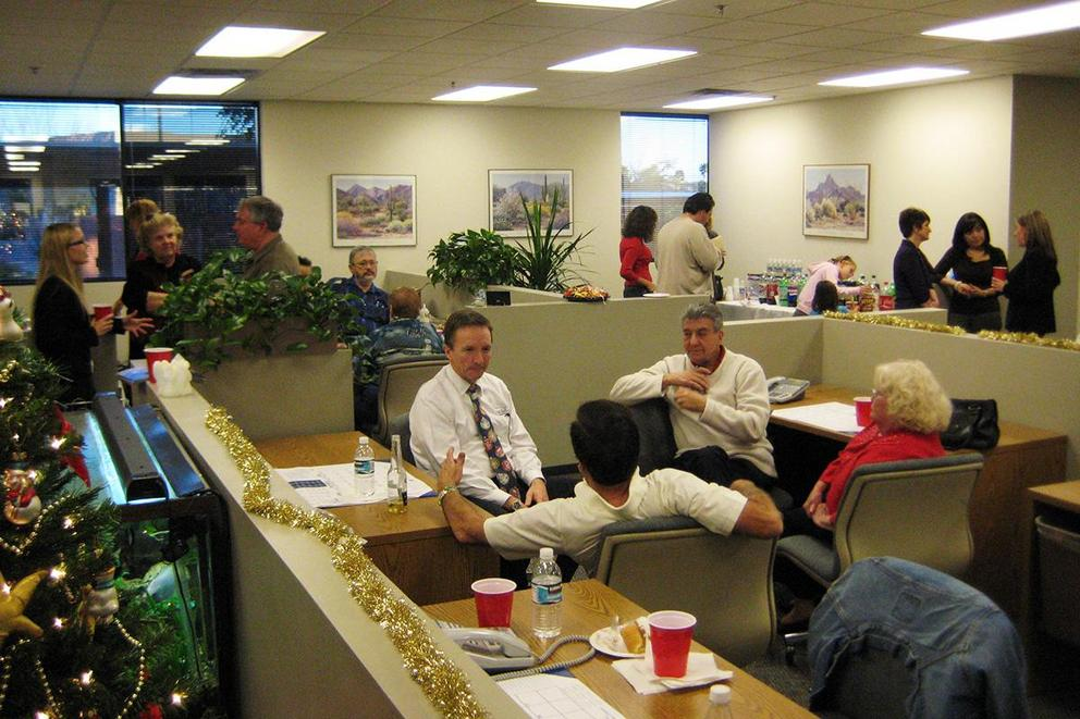 Are office holiday parties fun or tedious?