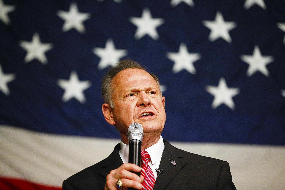 Can the Republican Party shake off Roy Moore?