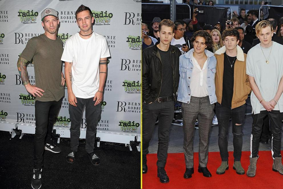 Band of the year: Twenty One Pilots or the Vamps?