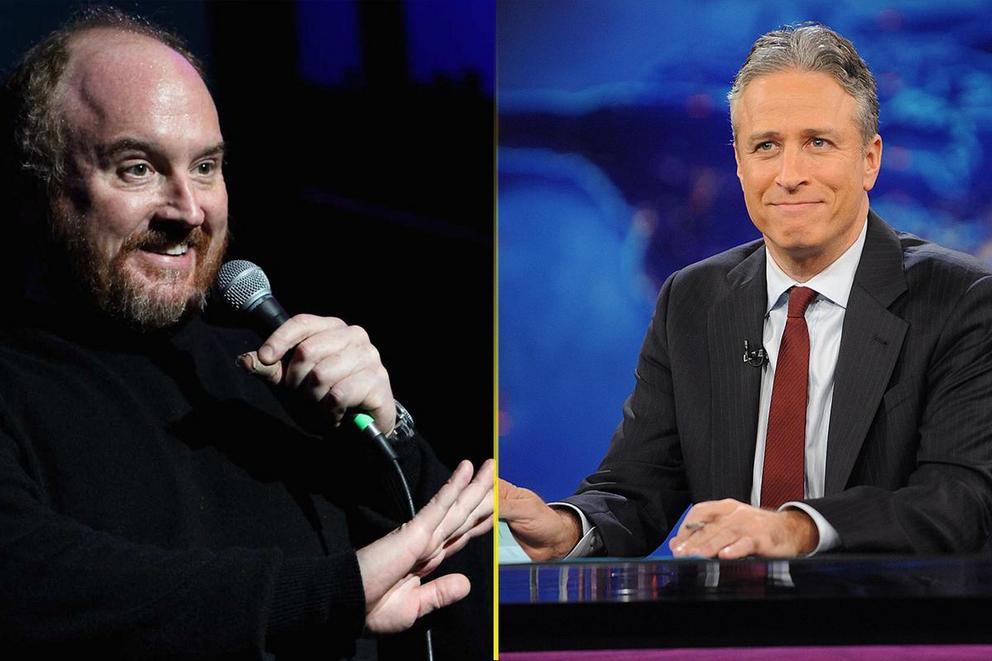 Who's funnier—Louis C.K. or Jon Stewart?