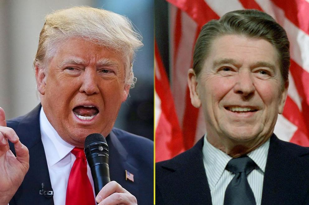 Best celebrity-turned-president: Ronald Reagan or Donald Trump?