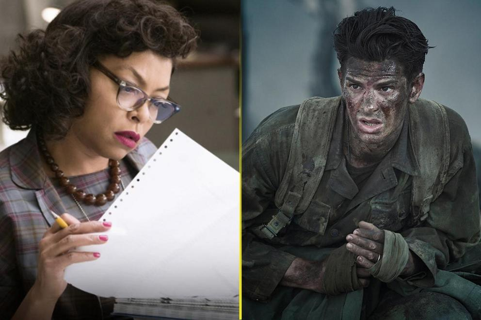 Which heroic biopic should win Best Picture:  'Hidden Figures' or 'Hacksaw Ridge'?