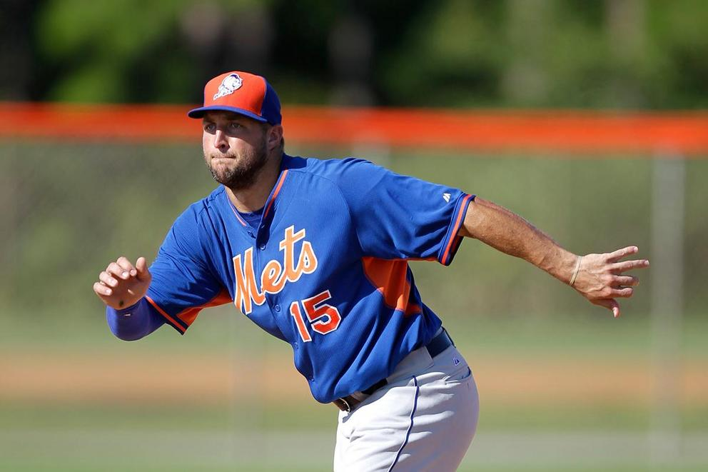 "Should we put some ""respeck"" on Tim Tebow's MiLB career?"