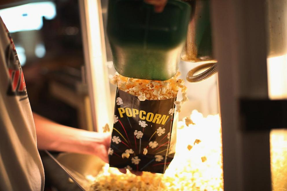 Is it gross to eat popcorn that has been sitting on the movie theater floor?