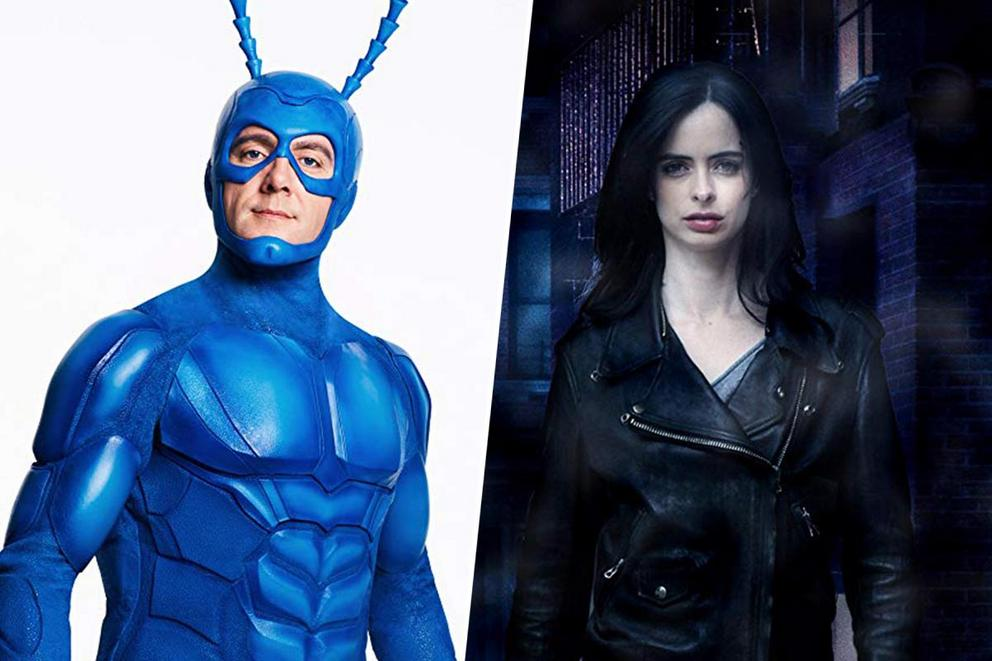 Ultimate '10s superhero show: 'The Tick' or 'Jessica Jones'?