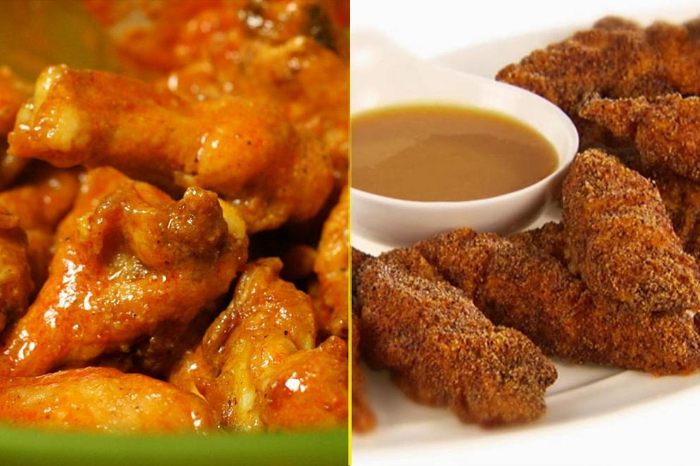 Would you rather eat chicken wings or chicken tenders?