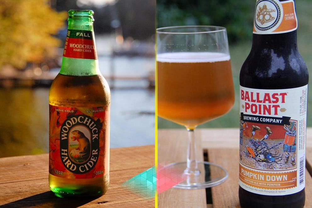 Hard cider vs. pumpkin beer: Best Halloween party drink?