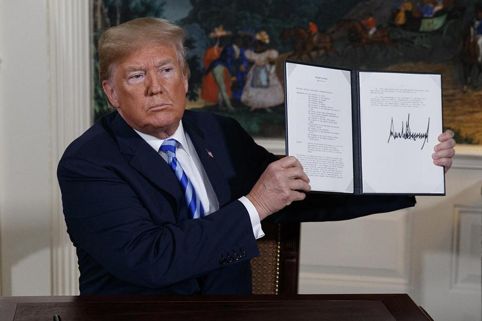 Was President Trump right to pull out of the Iran Nuclear Deal?