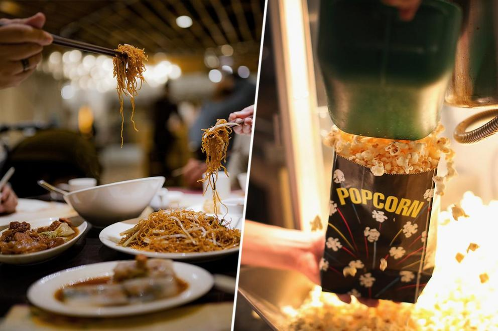 Which is the better Christmas tradition: Chinese food or going to the movies?