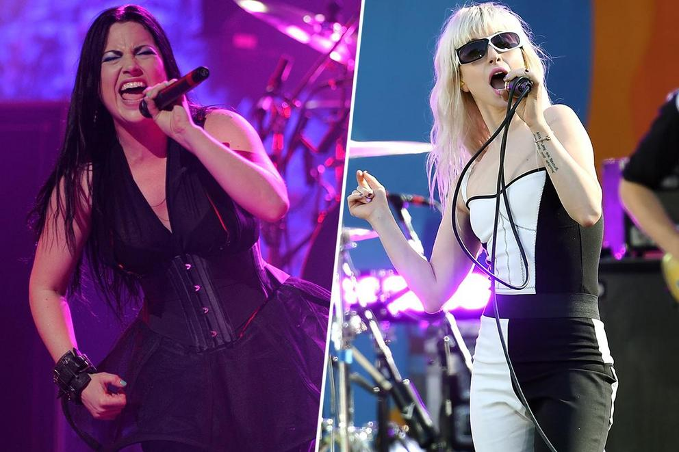 Favorite band led by a powerhouse woman: Evanescence or Paramore?