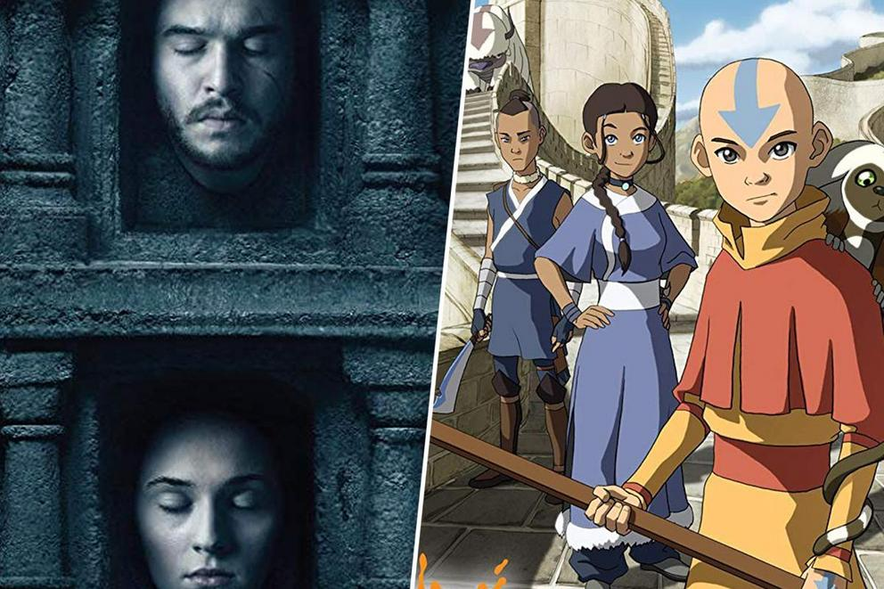 Which series is the greatest of all time: 'Game of Thrones' or 'Avatar the Last Airbender'?