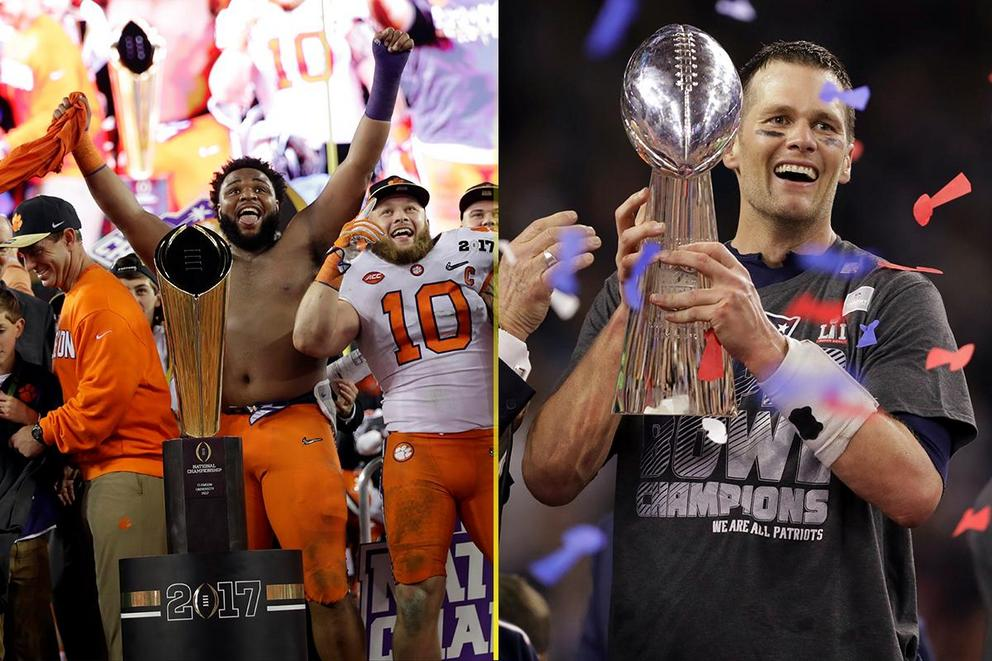 Which sport is more fun: College football or the NFL?