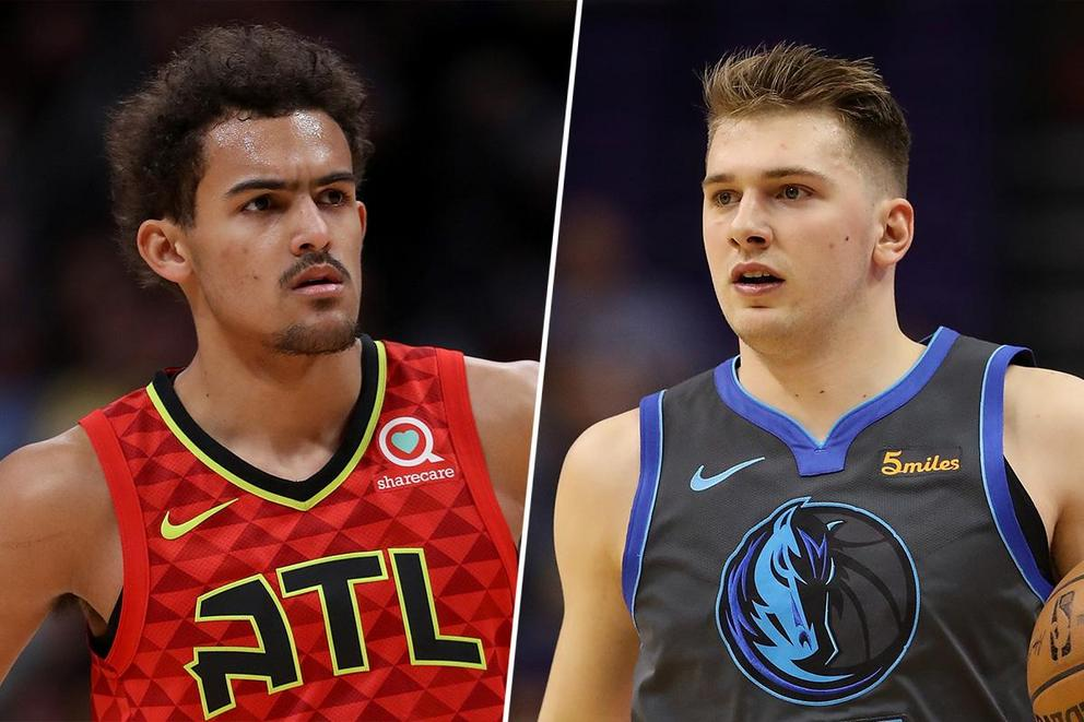 Who's the NBA Rookie of the Year: Trae Young or Luka Doncic?