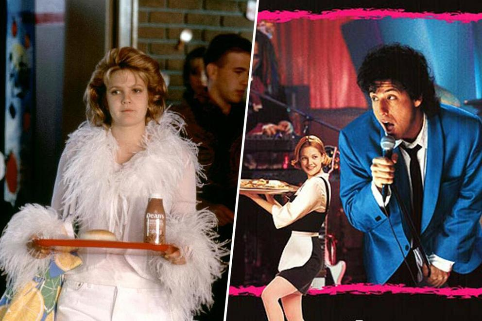 Favorite late '90s Drew Barrymore rom-com: 'Never Been Kissed' or 'The Wedding Singer'?