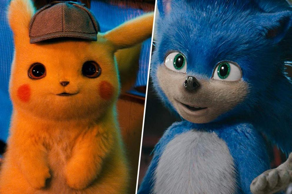 Favorite video game movie character: 'Detective Pikachu' or 'Sonic the Hedgehog'?