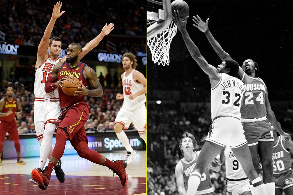 Most versatile NBA player ever: LeBron James vs. Magic Johnson?