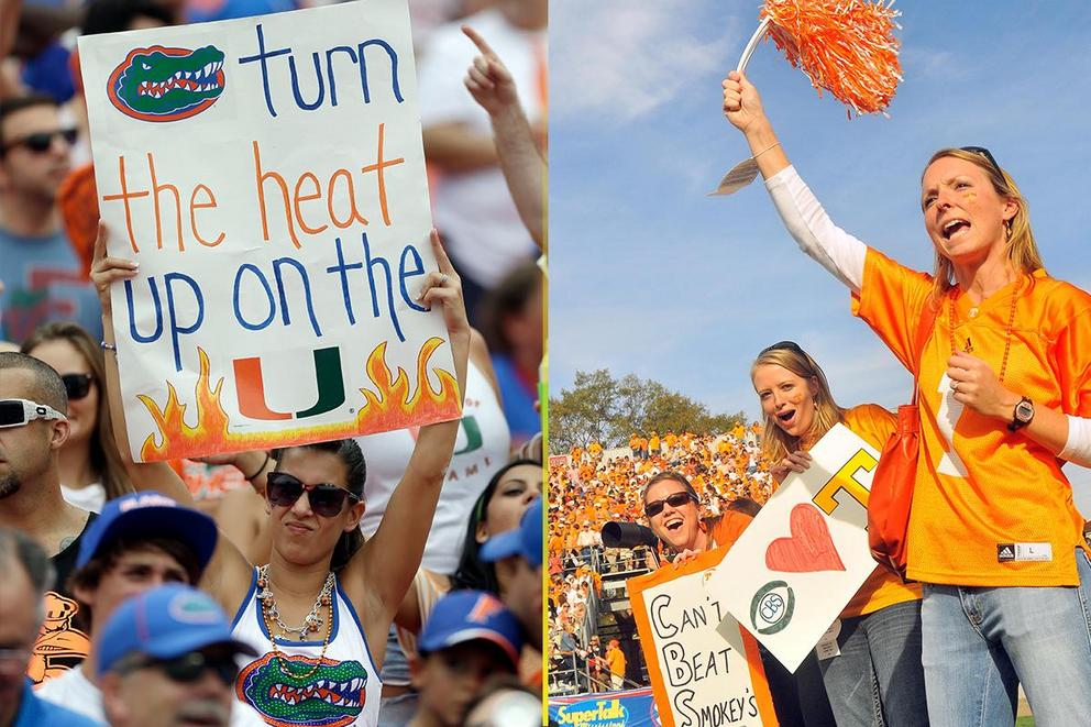 NCAA's Best College Fan Base: Florida or Tennessee?