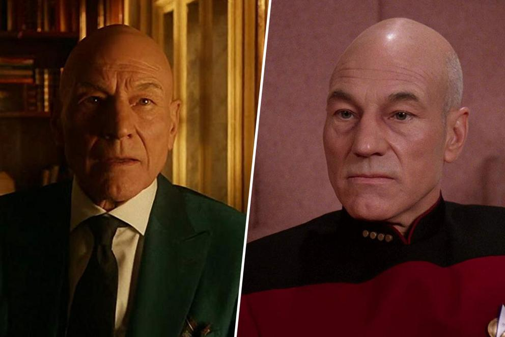 Patrick Stewart's most iconic role: Professor X or Captain Picard?