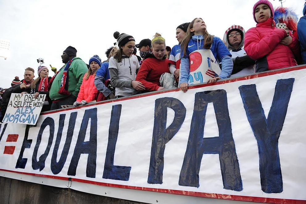 Do we need legislation to guarantee equal pay for women?