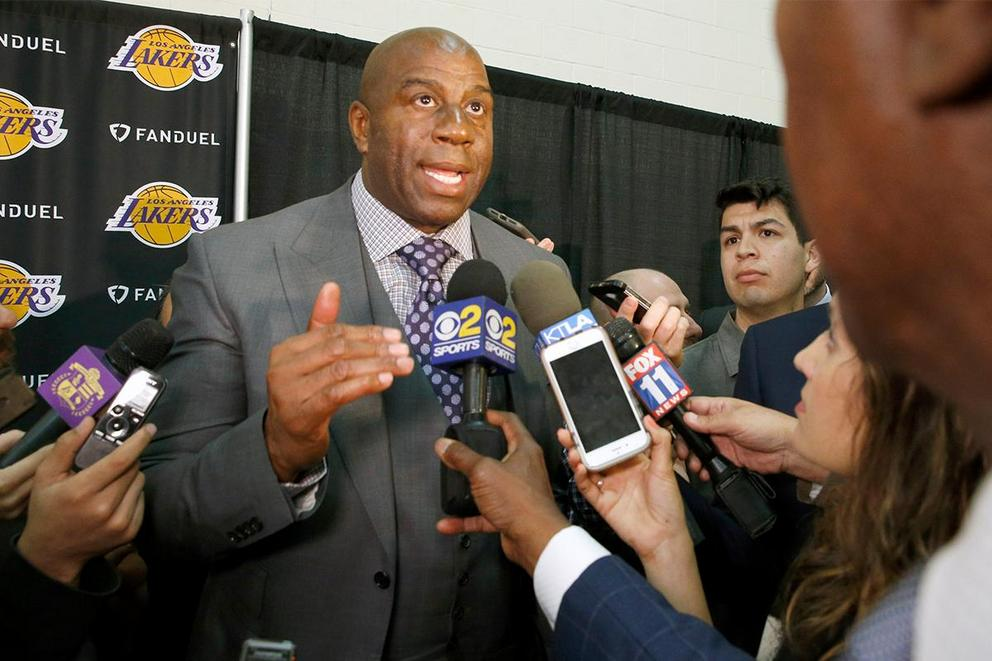 Are the tampering allegations against Magic Johnson and the Los Angeles Lakers legit?