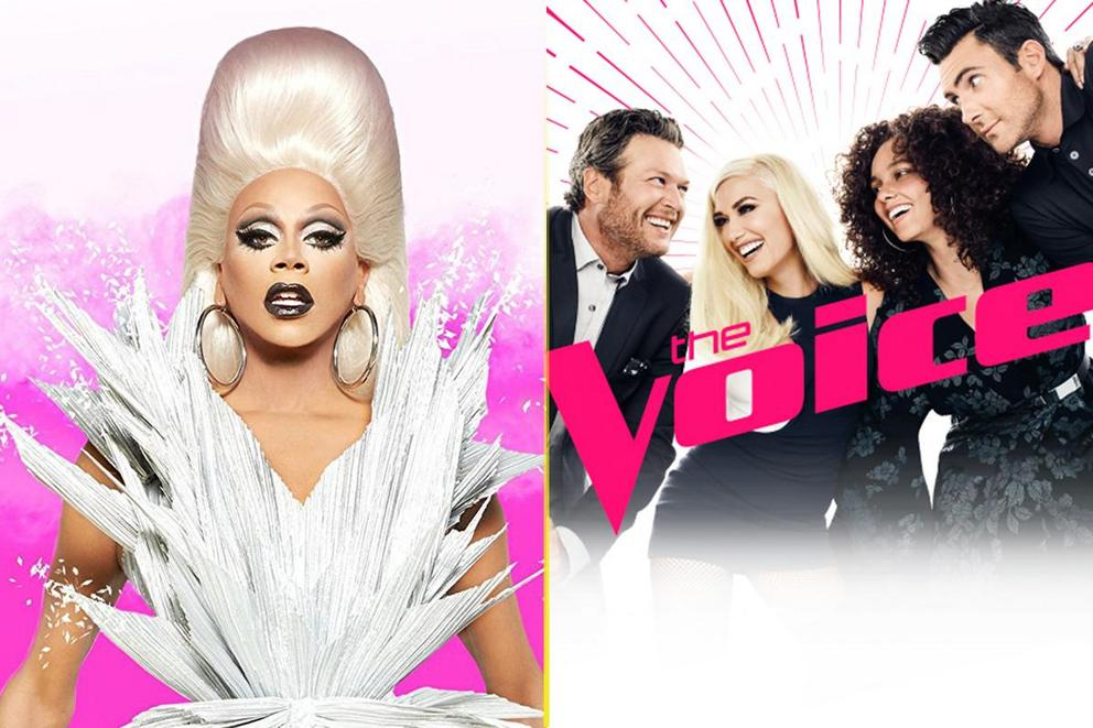 Outstanding Reality-Competition Program: 'RuPaul's Drag Race' or 'The Voice'?