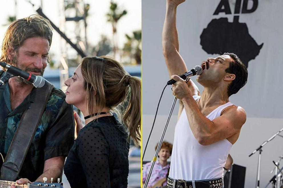 Best music drama of 2018: 'A Star Is Born' or 'Bohemian Rhapsody'?