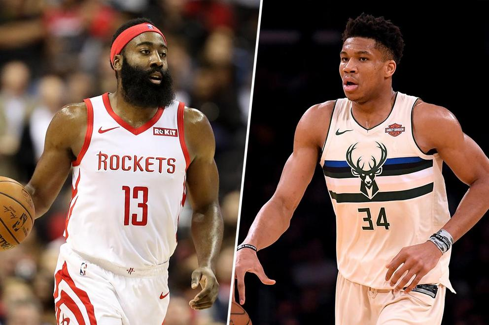 Who's the NBA MVP: James Harden or Giannis Antetokounmpo?