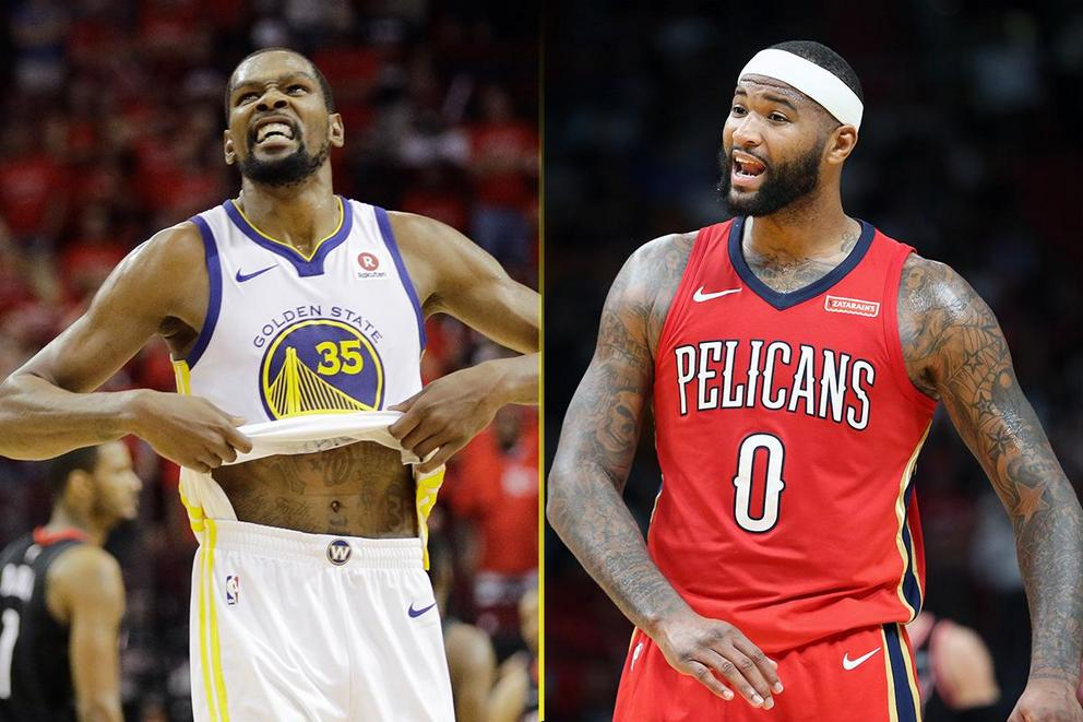 Who's the softest star in the NBA: Kevin Durant or DeMarcus Cousins?