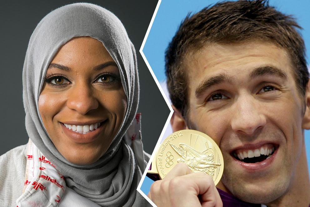 Is Michael Phelps the best choice for flag bearer, or should Ibtihaj Muhammad have been chosen?