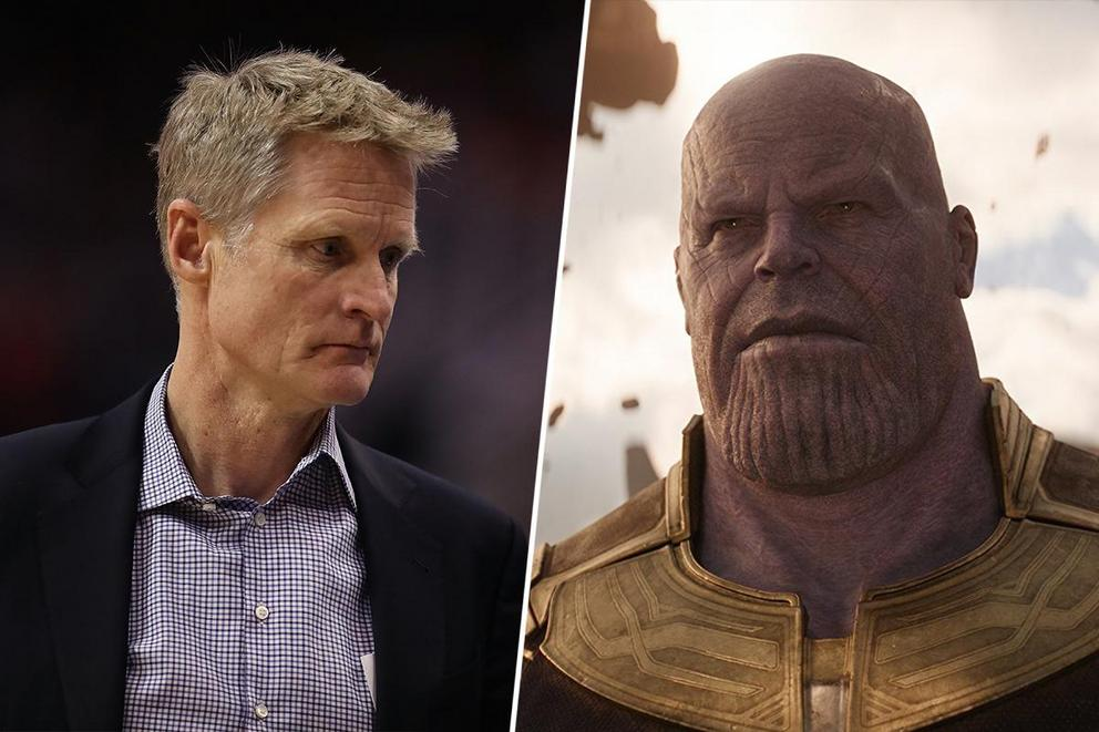 Who wields more power: Steve Kerr or Thanos?