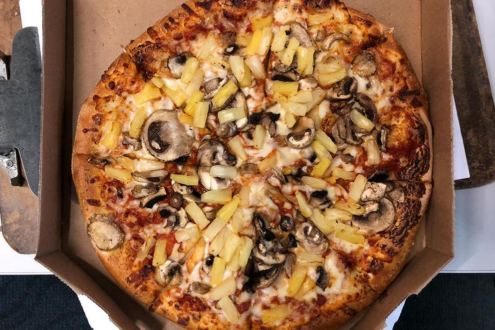 Does pineapple belong on a pizza?