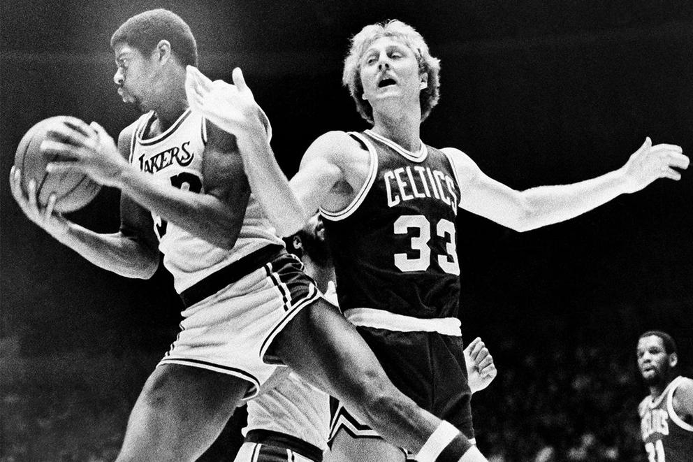 Who would you want on your team in their prime: Magic Johnson or Larry Bird?