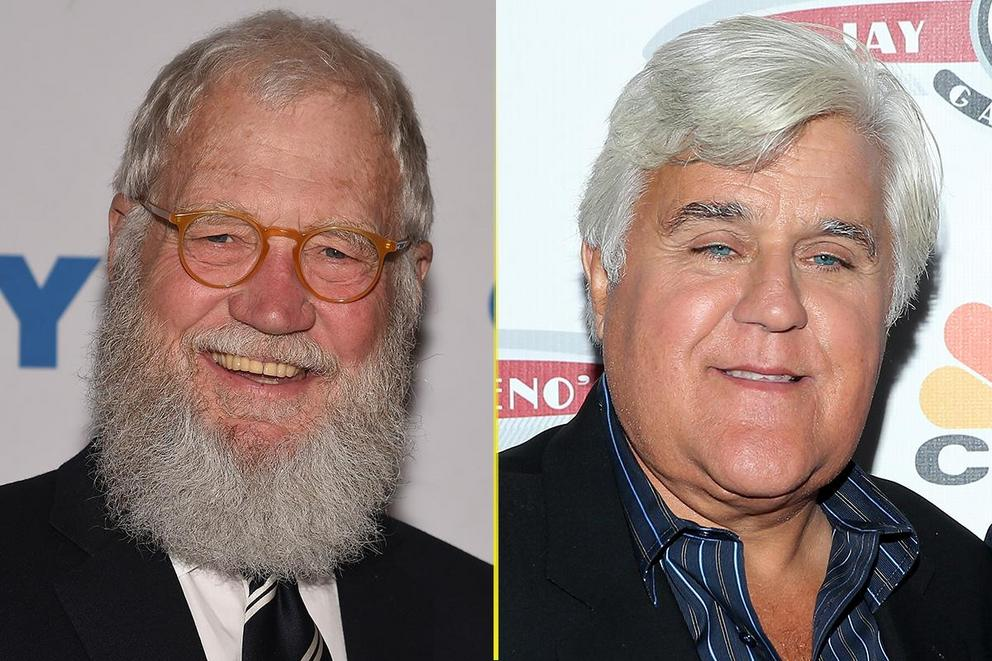 Which host does late night best: David Letterman or Jay Leno?