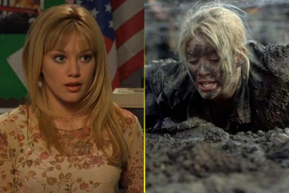 Hilary Duff's most iconic TV role: Lizzie McGuire or Cadet Kelly?