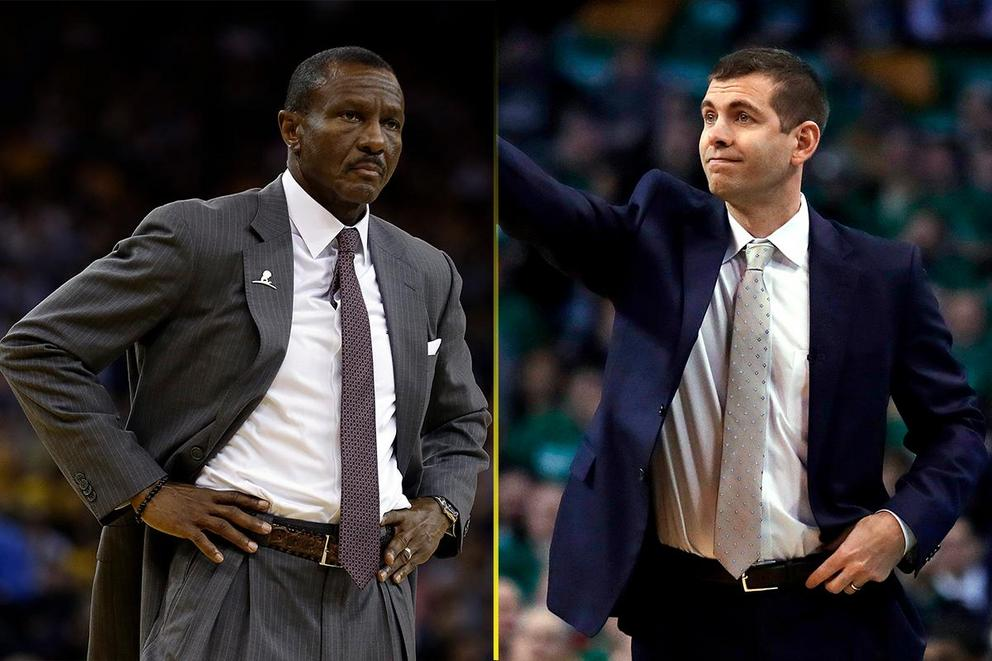 Who wins NBA Coach of the Year: Dwane Casey or Brad Stevens?