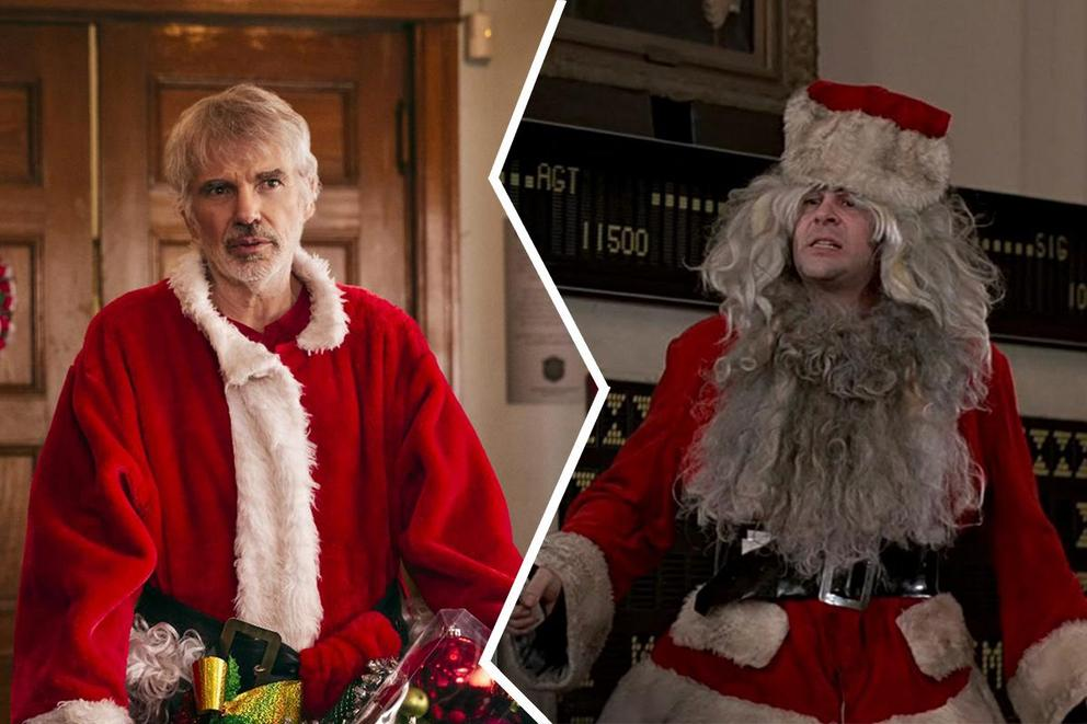 Who is cinema's baddest Santa: Billy Bob Thornton or Dan Aykroyd?