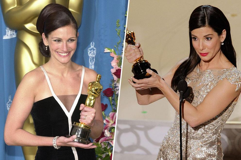 Who's your favorite leading actress: Julia Roberts or Sandra Bullock?