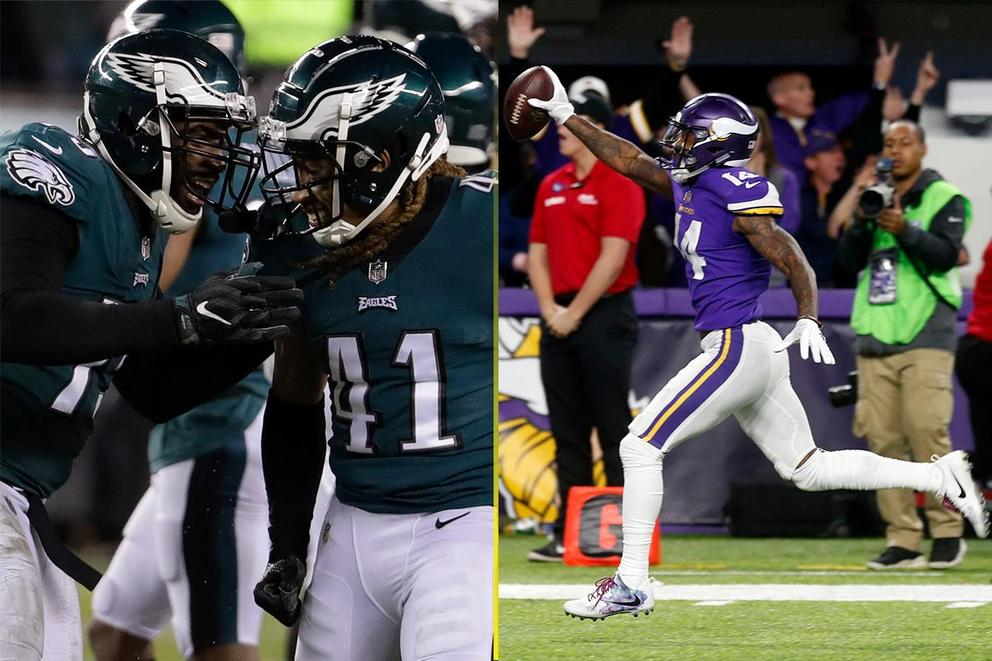 Who will win the NFC Championship: Philadelphia Eagles vs. Minnesota Vikings?