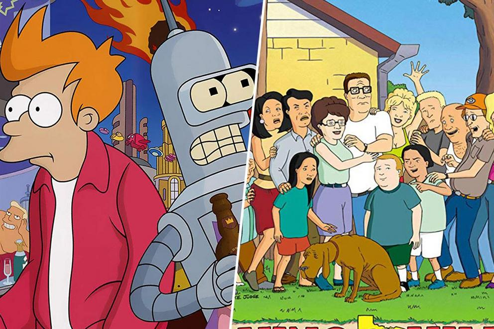 Which adult cartoon do you miss more: 'Futurama' or 'King of the Hill'?