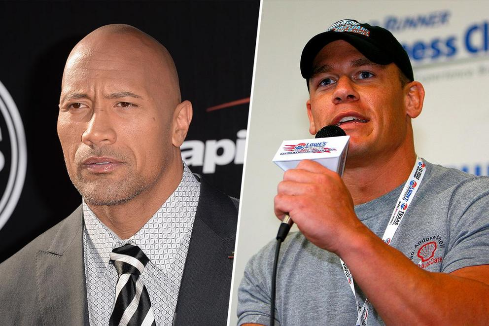 Greatest wrestler of all time: Dwayne 'The Rock' Johnson or John Cena?