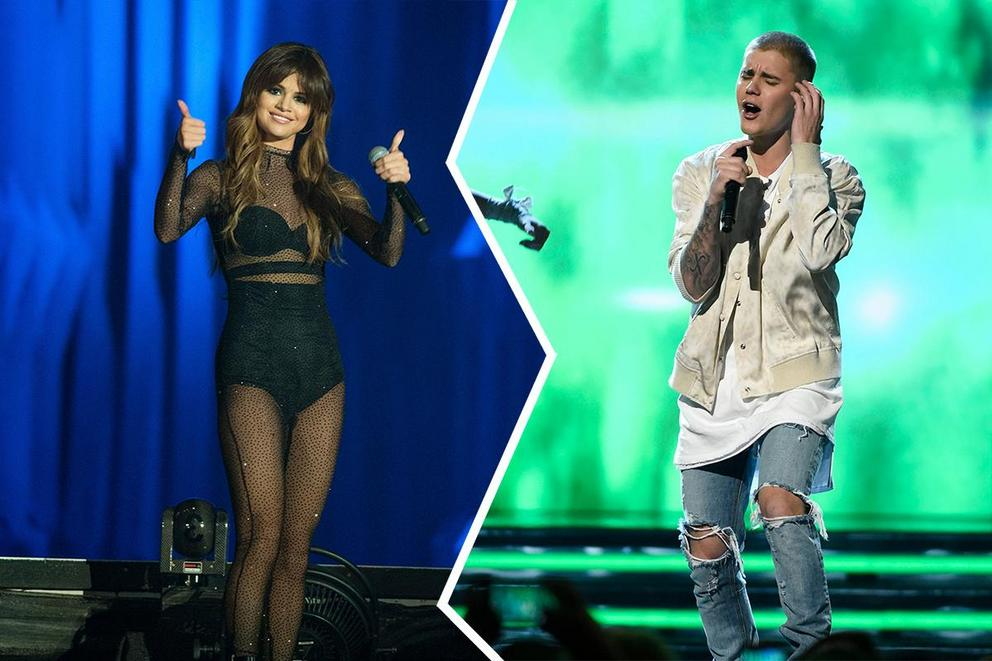 Who will win Artist of the Year: Selena Gomez or Justin Bieber?