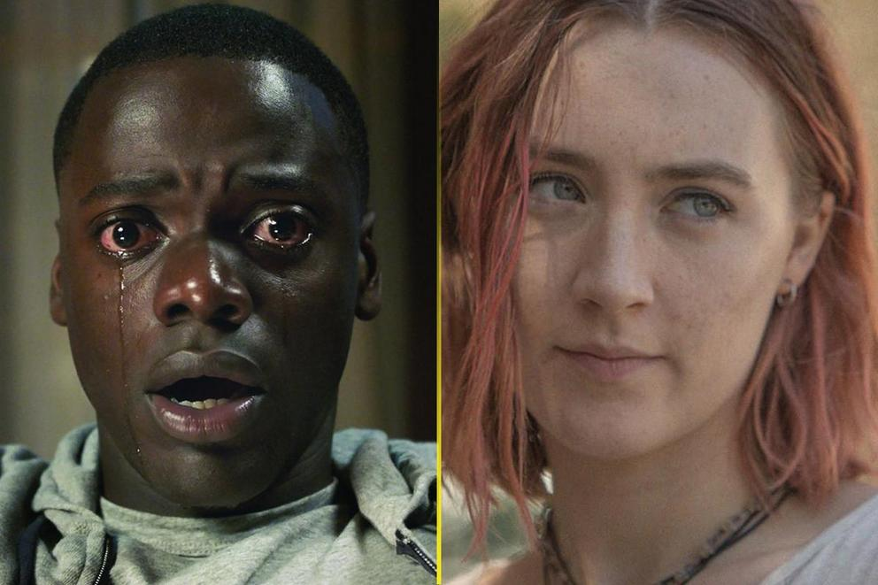 Best Musical or Comedy at the Golden Globes: 'Get Out' or 'Lady Bird'?
