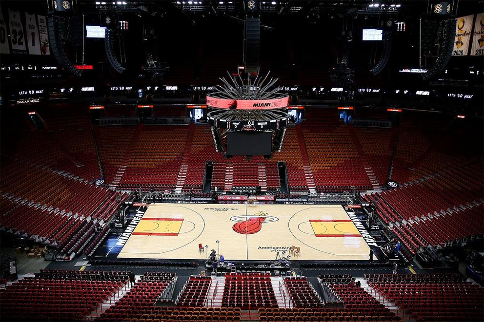 Should the NBA play in fan-less arenas?