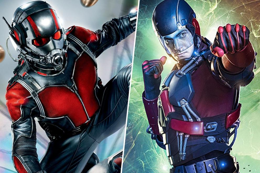 Ultimate shrinking superhero: Ant-Man or Atom?