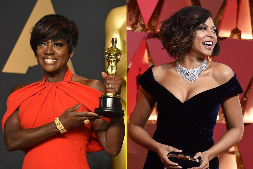 Best dressed at the Oscars: Viola Davis or Taraji P. Henson?