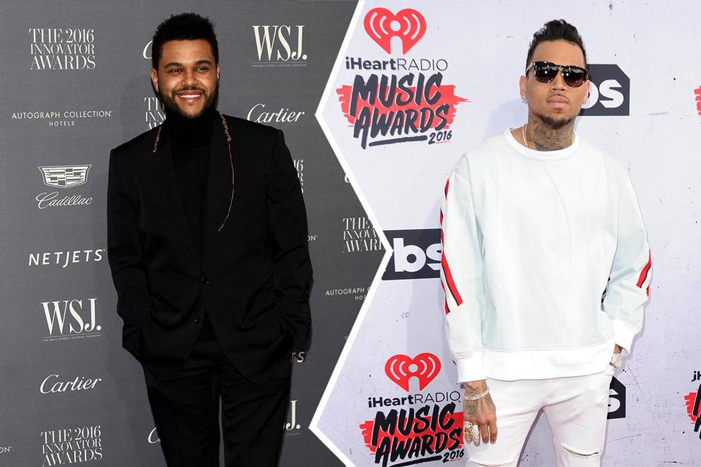 Who will win Favorite Soul/R&B Male Artist: The Weeknd or Chris Brown?