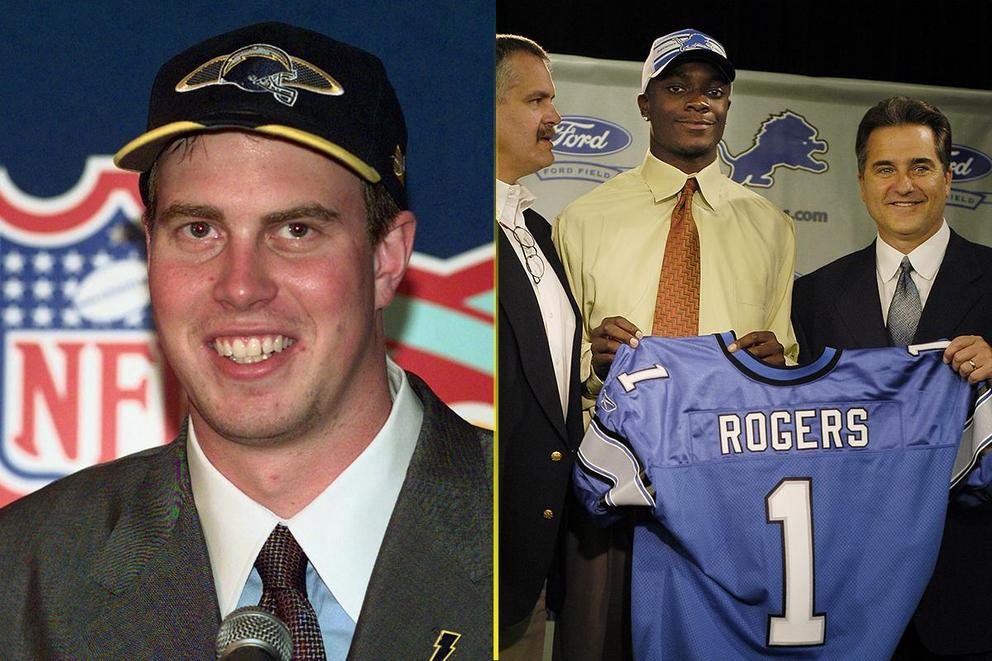Biggest NFL Draft bust: Ryan Leaf or Charles Rogers?