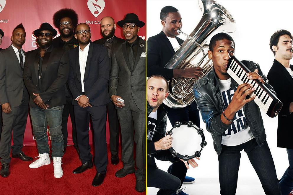 Best late-night TV show band: The Roots or Stay Human?