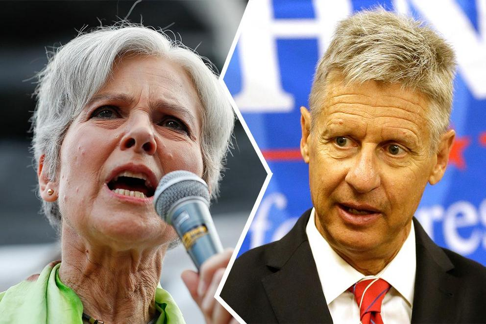 Who will do better in the general election: the Green Party or the Libertarian Party?