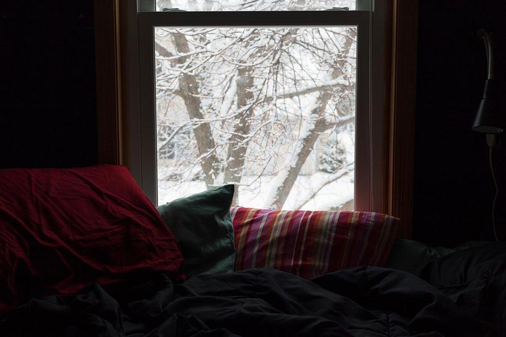 Do you leave your bed on a snow day?